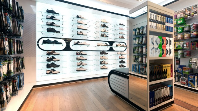 Harrods Sports, showcasing a full range of products