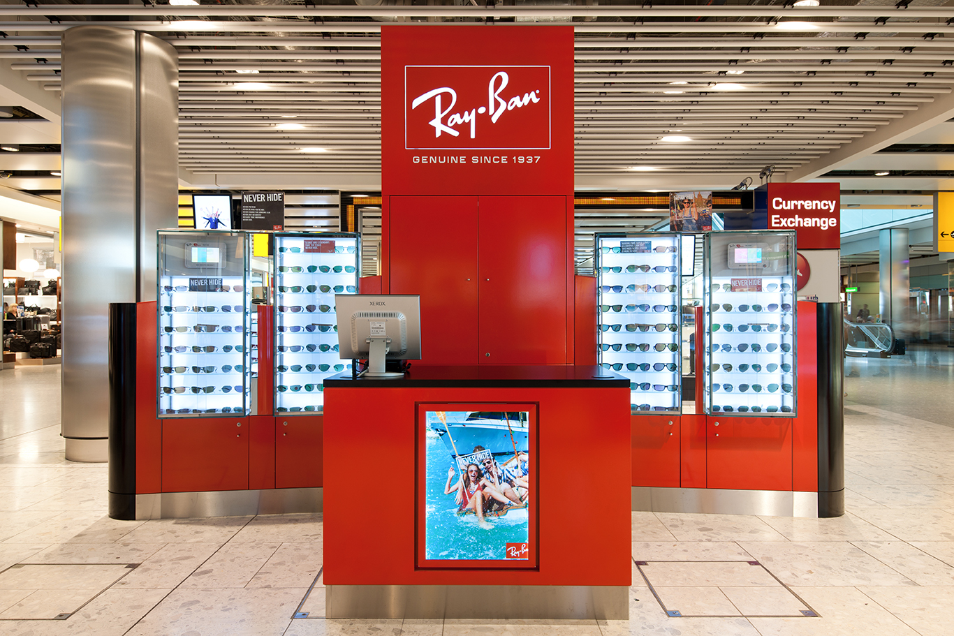 how much are ray bans in duty free