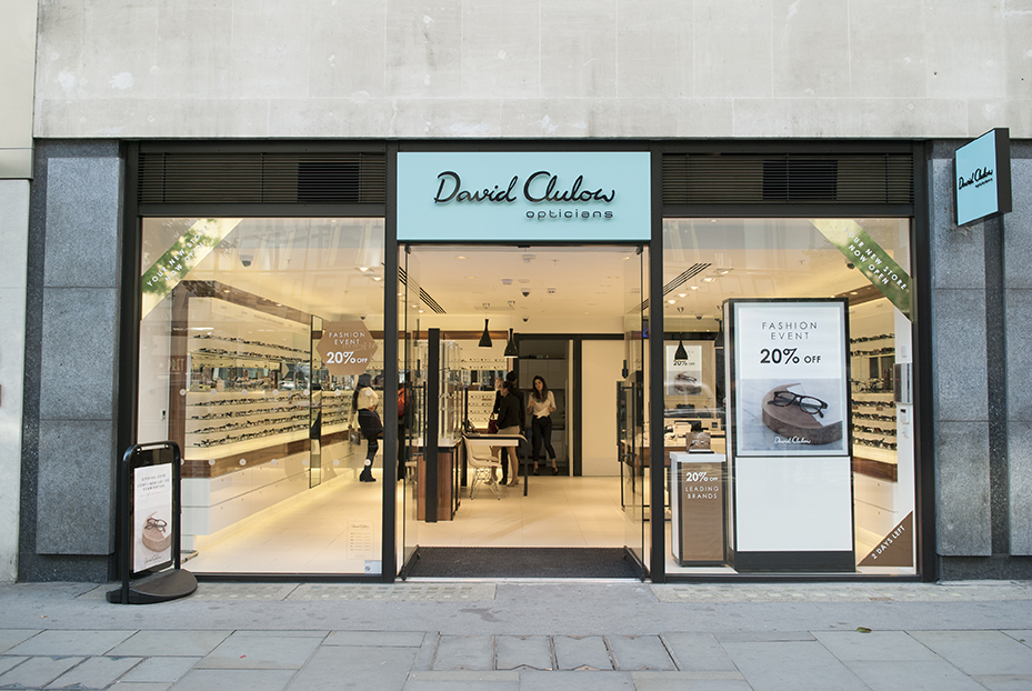 8a751d9457 David Clulow new generation store