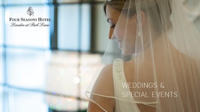 E-brochure promoting this glamorous wedding venue