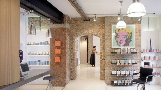 Franco Hair Salon Interior